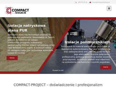 Compactizolacje.pl pianką poliuretanową