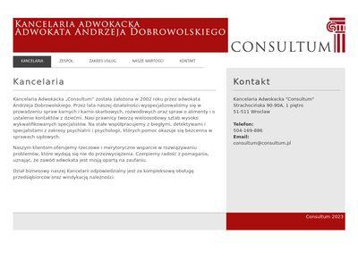 Consultum - kancelaria adwokacka