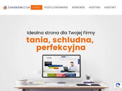 Charasim.com - projektowanie stron internetowych