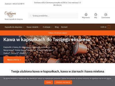 Cafessima.pl - kapsułki do ekspresu