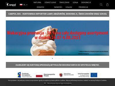 Canpolbis.pl - świeczniki
