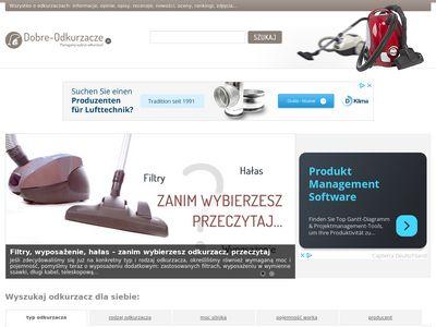 Odkurzacze dostępne w Polsce