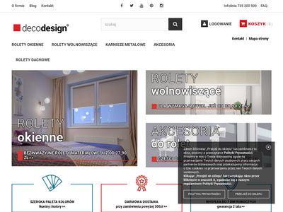 Decodesign.com.pl rolety