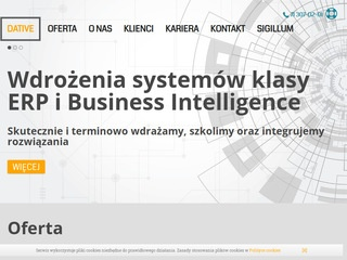 Dative.com.pl comarch ERP optima Wrocław