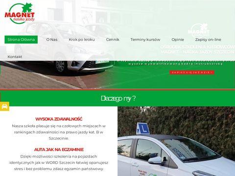 Magnet szkoła kierowców Szczecin