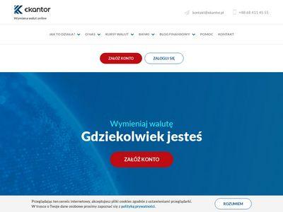 Ekantor.pl - wymiana walut