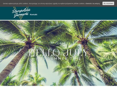 Ekojarmarki.pl wynajmowanie stoisk handlowych z drewna