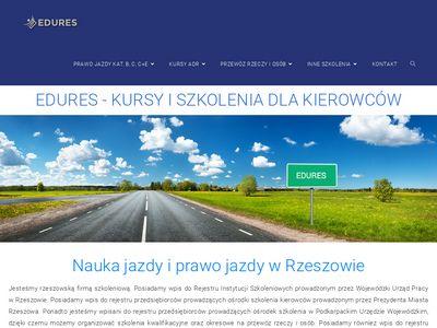 Edures.pl napełnianie i opróżnianie cystern