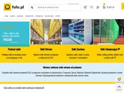 Fulo.pl - siatki zabezpieczające
