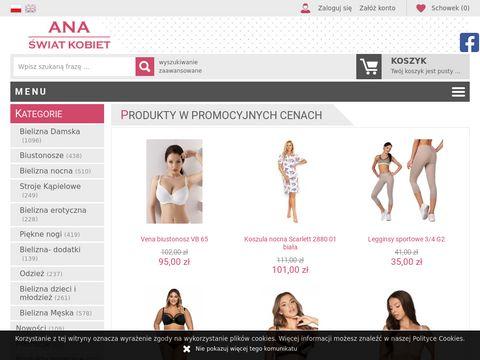 FirmaAna.pl biustonosze sklep internetowy