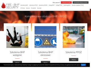Fire-Bhp Security szkolenia