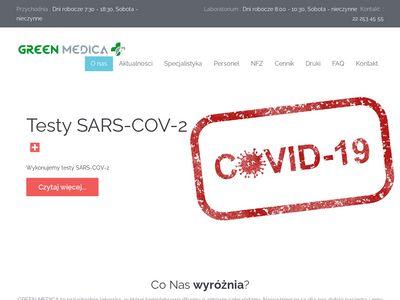 Greenmedica.com.pl - lekarze Białołęka