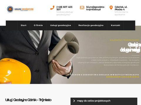 Geodeta-trojmiasto.pl