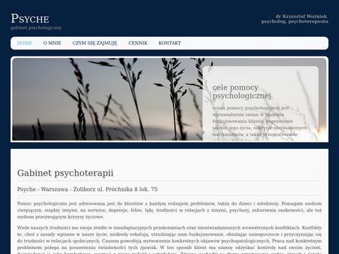 Gabinetpsyche.pl dobry psycholog Warszawa
