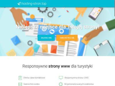 Hosting-stron.top kreator responsywnych stron