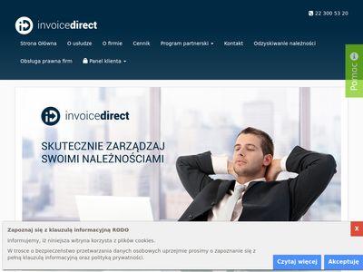Invoicedirect.pl - windykacja płatności