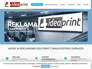 Idea Print studio reklamy