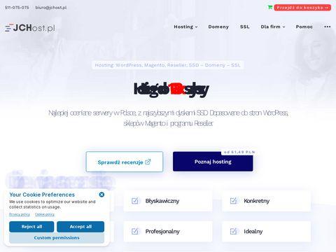 Jchost.pl hosting www