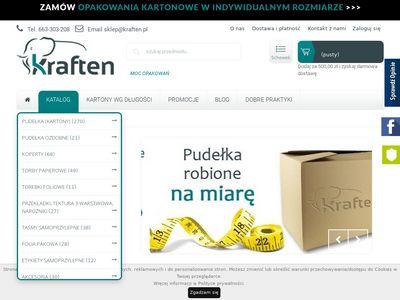 Kraften.pl - producent kartonów