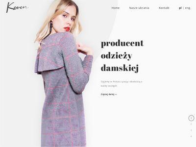 Korenmoda.eu producent odzieży
