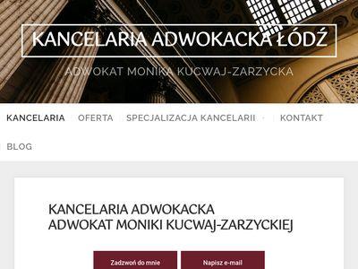 Lodzadwokat.pl mec. Kucwaj-Zarzycka