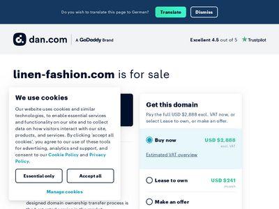 Linen-fashion.com ekskluzywna pościel