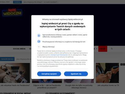 Lepiej-widoczni.pl seo, sem, social media - portal