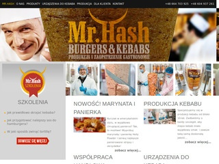 Mr. Hash opolskie - producent kebaba