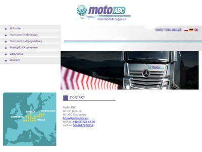 Moto-abc.eu - transport spedycja Gdańsk