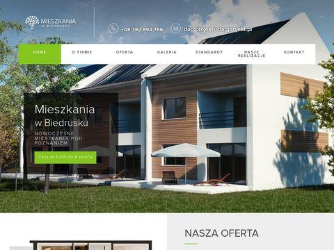 Mieszkaniawbiedrusku.pl nowe domy - pod Poznaniem