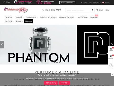 Madame24.pl - kosmetyki online