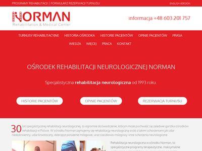Normanrehabilitation.com ośrodek rehabilitacji
