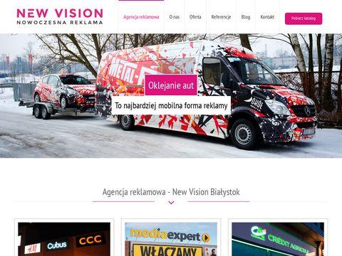 New Vision - agencja reklamowa Białystok