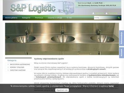 S&P Logistic kominy żaroodporne