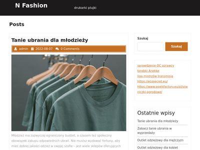 N-fashion.pl - promocja firmy