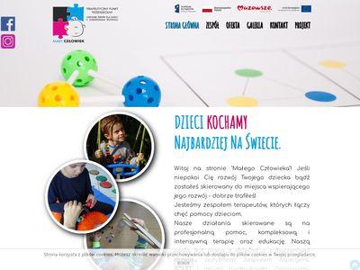 Osrodekmalyczlowiek.pl - terapia autyzm