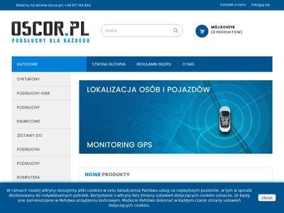 Oscor.pl dyktafony szpiegowskie