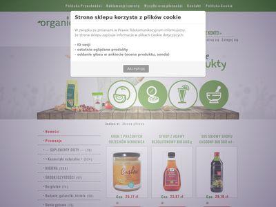 Sklep internetowy - żywność ekologiczna