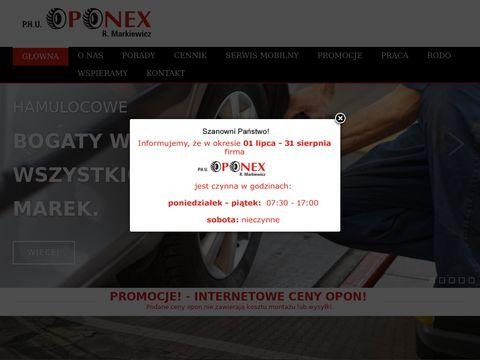Oponex-belchatow.pl felgi